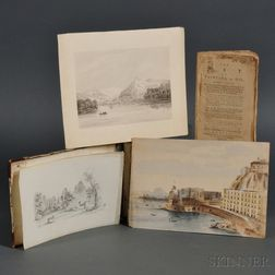 Sketchbook, John Bryant Jr. (d. 1847)