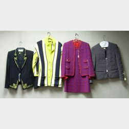 Group of Vintage and Designer Clothing