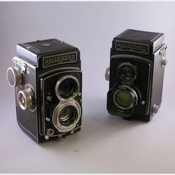 Two Rolleicord Cameras and a Rollei Magic