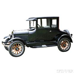 1926 Model T Five-window Coupe