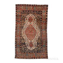 Antique Fereghan Sarouk Rug
