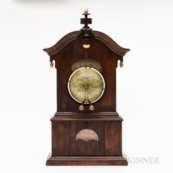 "Timby Walnut ""Solar Timepiece"" or Globe Clock"