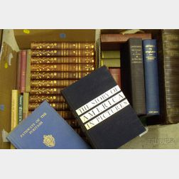Forty-two Assorted Decorative Binding and Library Books