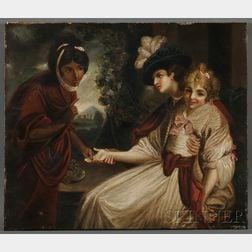 Continental School, 19th Century      Fortune Teller
