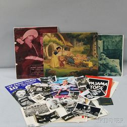 Group of Motion Picture and Theatre Ephemera
