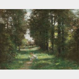 John Appleton Brown (American, 1844-1902)      The Duck Path