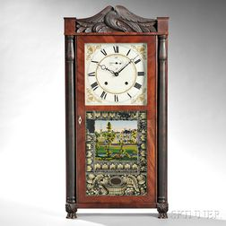 Eli Terry and Sons Eight-day Transitional Shelf Clock