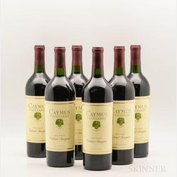 Caymus Cabernet Sauvignon 1990, 6 bottles