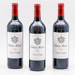 Chateau Montrose 2014, 3 bottles