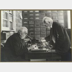Auguste and Louis Lumiere in Laboratory