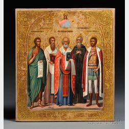 Russian Ceremonial Icon