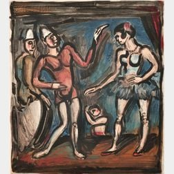 Georges Rouault (French, 1871-1958)      La Parade