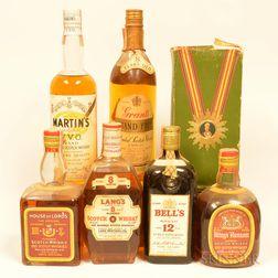 Mixed Blended Scotch, 7 4/5 quart bottles