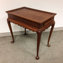 Eldred Wheeler Queen Anne-style Cherry Tea Table