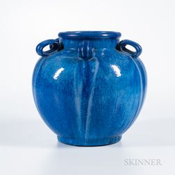 Large Fulper Pottery Vase