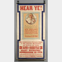 New England Industrial and Education Exposition Poster