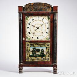 Seth Thomas Mahogany Transitional Shelf Clock