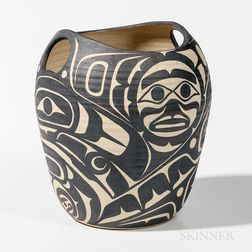 Northwest Coast-style Pottery Vessel