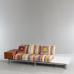 George Nelson (1908-1986) for Herman Miller Modular Sofa with Cabinet