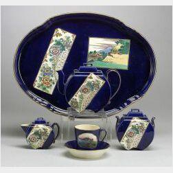 Wedgwood Japonesque Style Creamware Dejeuner Set