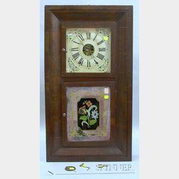 Jerome & Co. Mahogany Ogee Clock