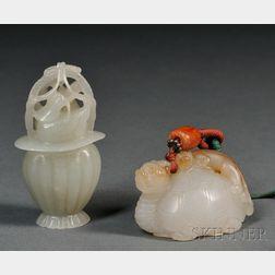 Two Jade Carvings