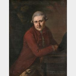 Joseph Blackburn (British, c. 1730-after 1778)      Portrait of David Garrick