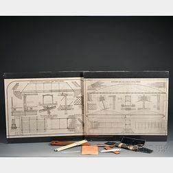 Two D.H. & C.C. Morrison's Industrial Blueprints