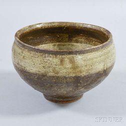Mashiko Stoneware Bowl, Tatsuzo Shimaoka (1919-2007)