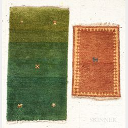 Two Gabbeh Rugs