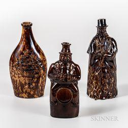 Three Bennington Bottles