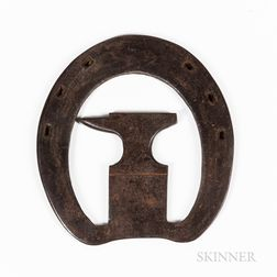 Wrought Iron Farrier Trade Sign