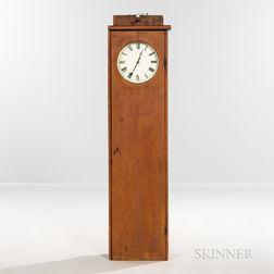 Shaker Pine Hanging Clock Case