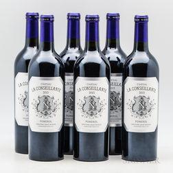 Chateau La Conseillante 2015, 6 bottles