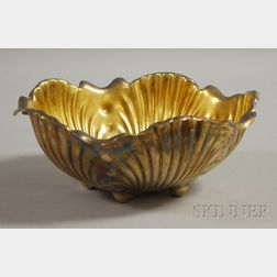 Whiting Sterling Silver Footed Shell-form Bowl
