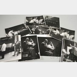 Set of Nine Steve Crouch Concert Photographs of Duke Ellington and Orchestra