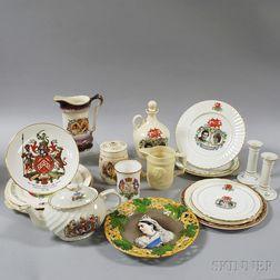 Twenty Royal Commemorative Items