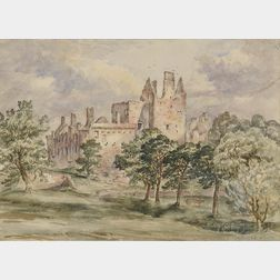 Anglo/American School, 19th Century      Craig Miller Castle