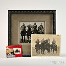 Signed Photograph of Notre Dame's Four Horsemen of 1924
