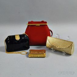 Group of Assorted Handbags and Clutches