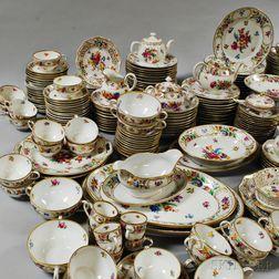 Extensive Dresden Porcelain Luncheon Service.     Estimate $500-700