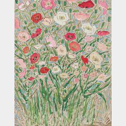 Elmer Livingston MacRae (American, 1875-1953)      A Profusion of Flowers