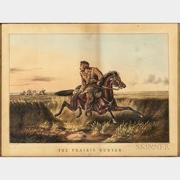 Nathaniel Currier, Publisher (American, 1813-1888)    The Prairie Hunter