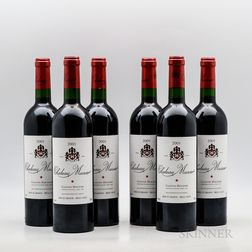 Chateau Musar 2001, 6 bottles (oc)