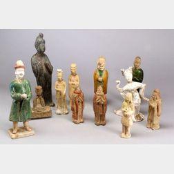 Twelve Tomb Figures