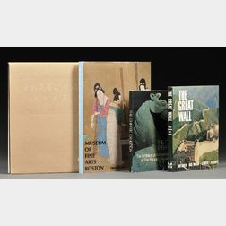 Four Chinese Art Books