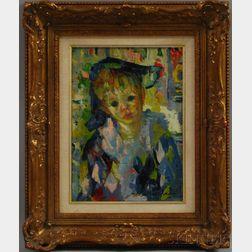 Luigi Corbellini (Italian, 1901-1968)      Blue Boy