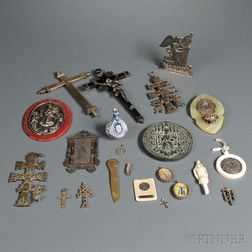 Twenty-one Ecclesiastical Objects