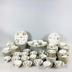 Approximately 142-piece Herend Market Garden-pattern Porcelain Service for Twelve.