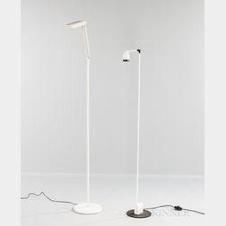 "Toshiyuki Kita ""Terra"" for Luci Italia Floor Lamp and an Italian Modern Floor Lamp"